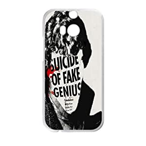 HUAH Suicide of fake genius Cell Phone Case for HTC One M8 by icecream design