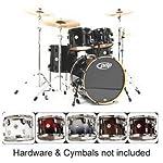 Pacific-Drums-PDCM2215PB-Concept-Series-5-Piece-Drum-Set-Pearlescent-Black