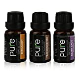 Top-Aromatherapy-Premium-Essential-Oils-6-Pc-Gift-set-Specialty-Collection-of-Clary-Sage-Patchouli-Rosemary-Ylang-Ylang-Bergamot-Frankincense-by-Pure-10ML-Great-Holiday-Gift-Idea