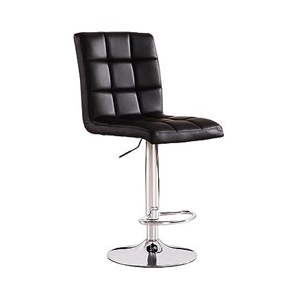 29edd0a99246 Barstools MAZHONG Artificial PU Bar Stool With Chair Back Swivel Chair Bar  Stool Kitchen Bench Breakfast