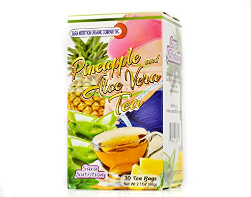 Pineapple and Aloe Vera Tea