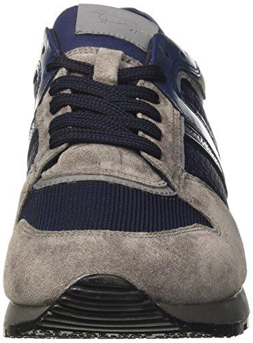 Basso Harmont E9095669 Grigio amp; Collo Uomo a Sneaker Blaine Piombo qYBwTq1