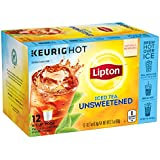 Lipton Unsweetened Iced Tea, K-Cups, 12 ct Pack of 6