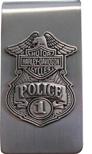 Harley-Davidson Police Original 3D Money Clip (Police Money Clip)
