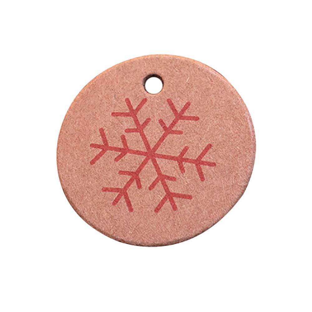 Jingyuu bigliettino addensare punch for Christmas Decor//DIY//tag//Craft//regalo fatto a mano lavoro thank you-2