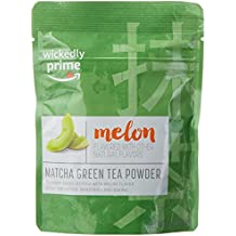 Wickedly Prime Matcha Green Tea Powder, Melon Flavored, Culinary Grade, 2 Ounce