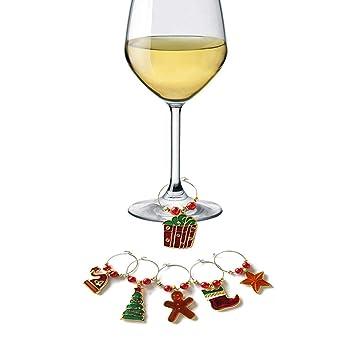 XGuangage - Juego de 6 piezas de árbol de Navidad para decoración de mesa