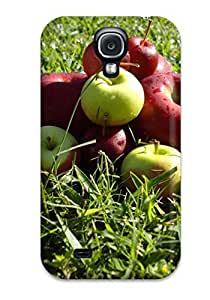 lintao diy BayyKck Fashion Protective Fresh Apples Case Cover For Galaxy S4