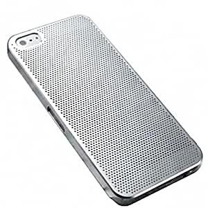 DUR Ultrathin Mesh Pattern Metal Hard Case for iPhone4/4S(Assorted Color) , Golden