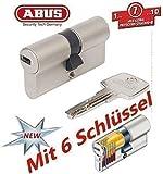 ABUS EC550 Cylindre de serrure (a/b) 30/35mm (c=65mm) avec 6 clés - SKG ** certifié