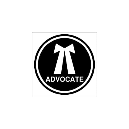 clickforsign advocate reflective sticker amazon in car motorbike rh amazon in advocate login advocate login in