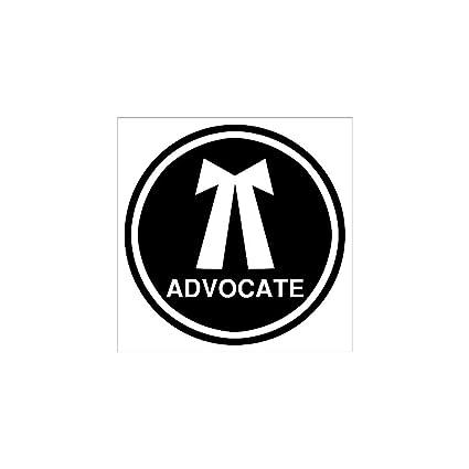 clickforsign advocate reflective sticker amazon in car motorbike rh amazon in advocate logo images advocate logistics