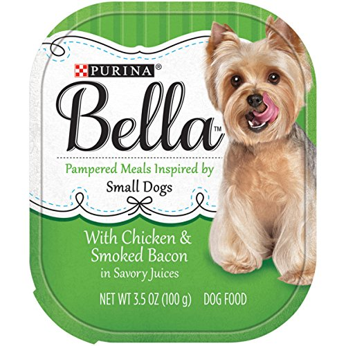 Purina Bella Pampered Meals With Chicken & Smoked Bacon in Savory Juices Adult Wet Dog Food - (12) 3.5 oz. (Bella Dog)