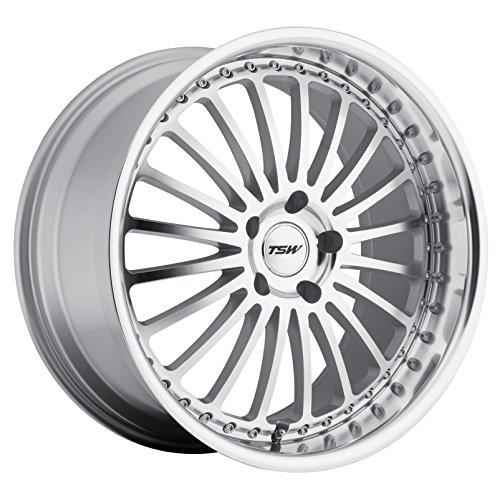 - TSW Silverstone Silver Wheel with Machined Lip (18x8
