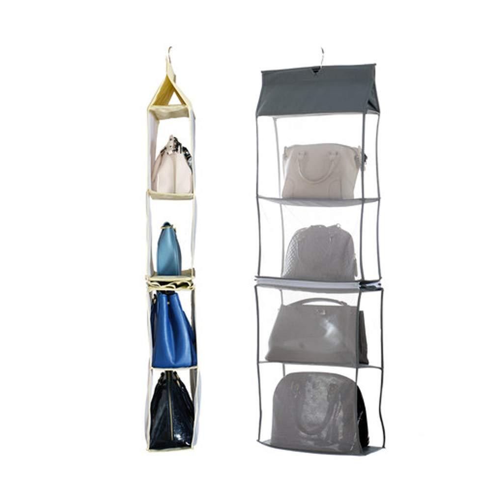 Bolsa para colgar en el armario Bolsa para colgar en múltiples capas Bolsa para guardar bolsas en bolsa Bolsa para guardar bolsas plegable Bolsa para colgar ...