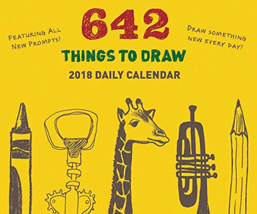 642 Things to Draw 2018 Daily ()