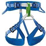 PETZL Macchu Childrens Sit Harness, Adjustable Leg Loops