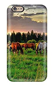 New Snap-on MaritzaKentDiaz Skin Case Cover Compatible With Iphone 6- Horse by lolosakes