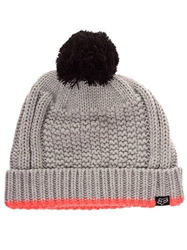 Fox Racing Wear (Fox Racing Girls Doozy Beanie Hat One Size Light Heather Grey)