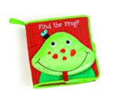 Manhattan Toy Soft Finding Activity Book, Find the Frog, Baby & Kids Zone
