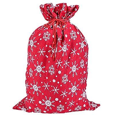 Juegoal Red Christmas Tree Skirt