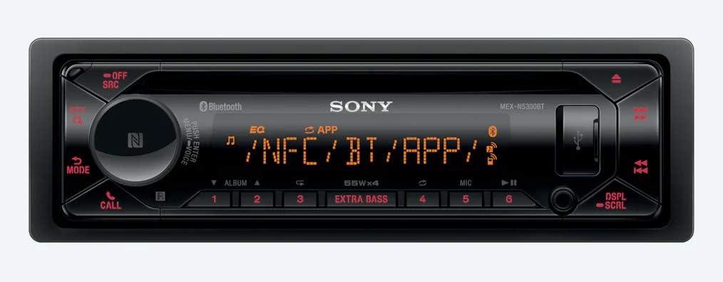 SONY DSX-A400BT Autoradio mit Bluetooth USB iPhone iPod NFC MegA PoweR 4 # 55W