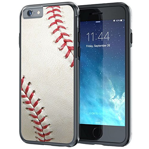 True Color Case Compatible iPhone 6s Case, Baseball Sports Collection Slim Hybrid Hard Back + Soft TPU Bumper Protective Durable [True Protect Series] iPhone 6/6s 4.7