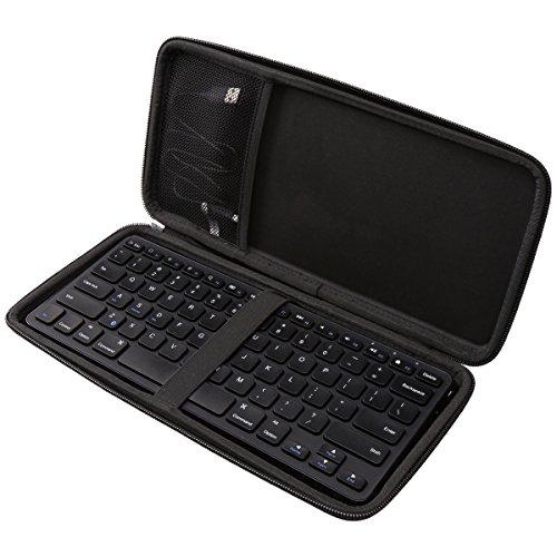 Aproca Hard Travel Storage Case Compatible Anker Ultra Compact Slim Profile Wireless Bluetooth Keyboard
