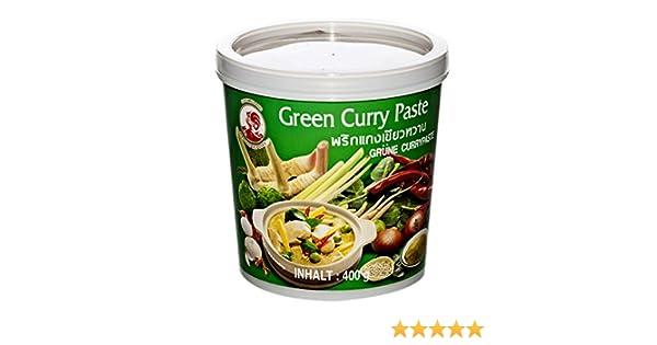 Cock Brand Pasta de Curry Verde, 400 gr: Amazon.es: Alimentación y bebidas