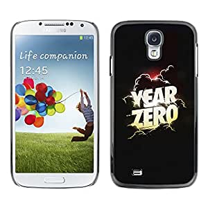 A-type Colorful Printed Hard Protective Back Case Cover Shell Skin for SAMSUNG Galaxy S4 IV / i9500 / i9515 / i9505G / SGH-i337 ( Zero Year Poster Movie Clouds God )