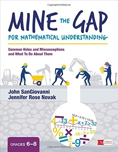 Mine the Gap for Mathematical Understanding, Grades 6-8: Common Holes and Misconceptions and What To Do About Them (Corwin Mathematics Series)