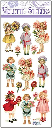 Victorian Children with Flowers