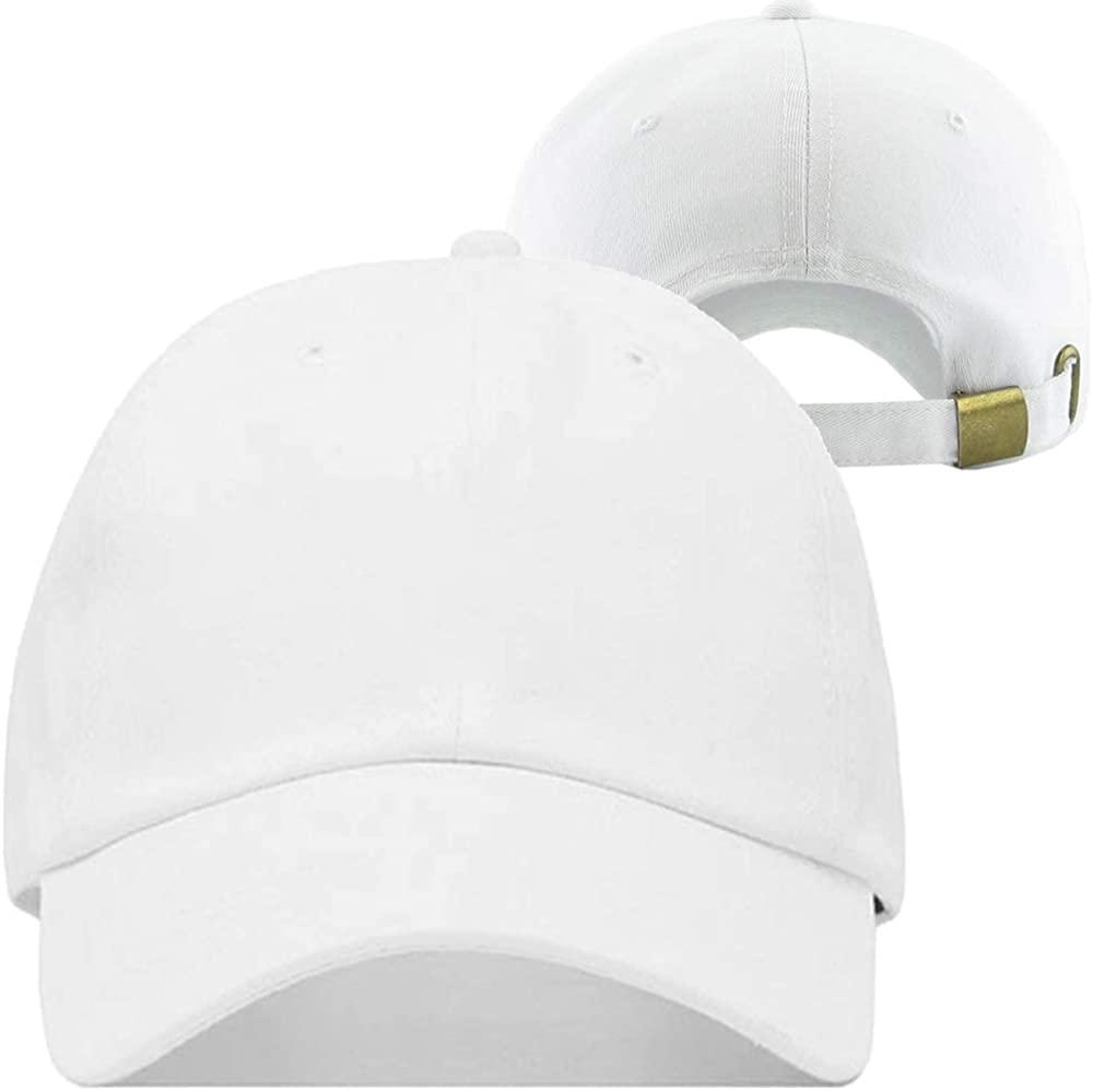 White Baseball Hats for Men Embroidered Cap Embroidery Snapback Hat Classic Letters R