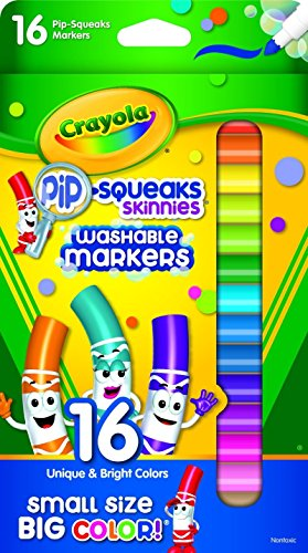 Crayola Pip Squeaks Skinnies Washable Assorted