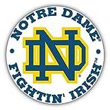 Notre Dame Fighting Irish NCAA USA College Sport Stamp Logo Vinyl Sticker 5 X 5 inches