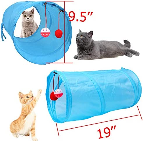 M JJYPET Cat Toys Kitten Toys Assortments,Crinkle Balls for Cat,Kitty,Kitten 3