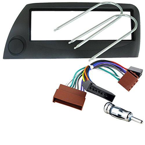 FORD KA SILVER FULL CAR STEREO/RADIO FITTING KIT - Includes a Silver Facia Adapter, Removal Keys, Aerial Adapter and ISO wiring harness.: Amazon.co.uk: Electronics