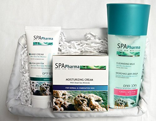 Dead Sea Products Gift Set For Woman - Face Body and Hands