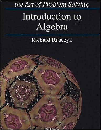 Introduction to Algebra: Richard Rusczyk: 9781934124147