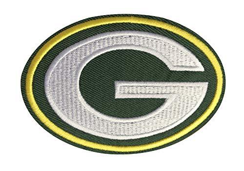 Green Bay Packer Logo (Mastodon Green Bay Packers Logo NFL Football Hat Shirt Jersey Embroidered Iron On)