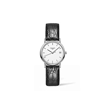 al cuarzo Collection Reloj l43204122 Longines Presence v0NnPym8wO