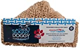 Soggy Doggy Super Shammy  Beige One Size 31-inch x 14-inch Microfiber Chenille Dog Towel with Hand Pockets, My Pet Supplies