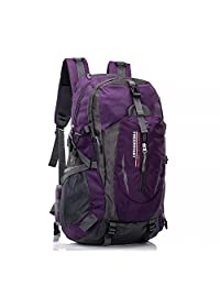 Hiking Daypack,Awaytoy 40L Mountain Backpack Trekking Bag Backpacking Climbing Camping Travel Backpack for Mountaineering