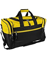 "20"" or 17"" Blank Duffle Bag Duffel Travel Camping Outdoor Sports Gym Accessories Bag"