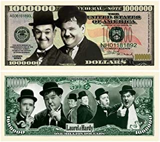 product image for Laurel and Hardy Million Dollar Collectible Bill