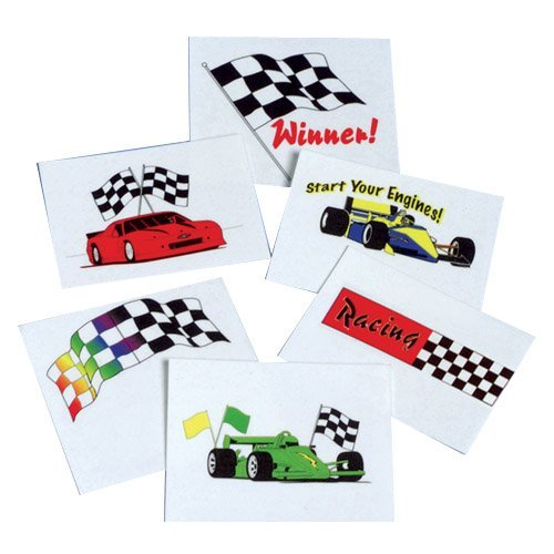 DollarItemDirect Racing Temporary Tattoos , Sold by 15 GROSSES