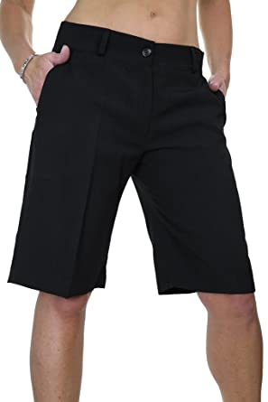 ICE (1492) Ladies Smart Washable Day Evening Tailored Shorts ...