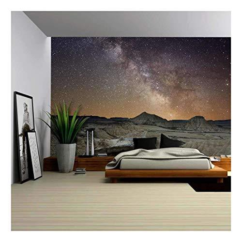 Milky Way over the Desert of Bardenas Spain