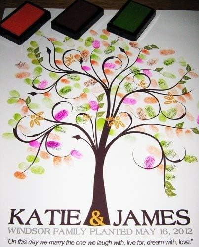 Wedding fingerprint wedding Guestbook