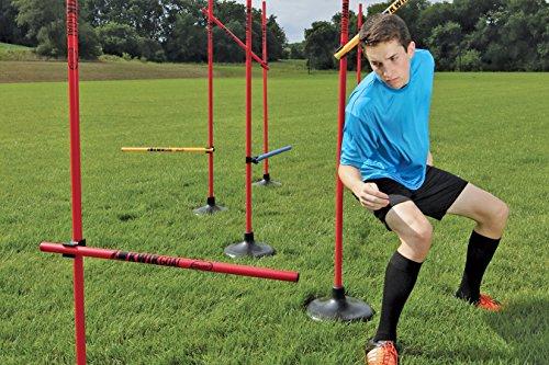 Kwik Goal Coaching Sticks Hurdle Set